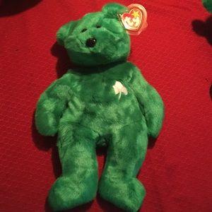 Ty beanie buddy bear Erin
